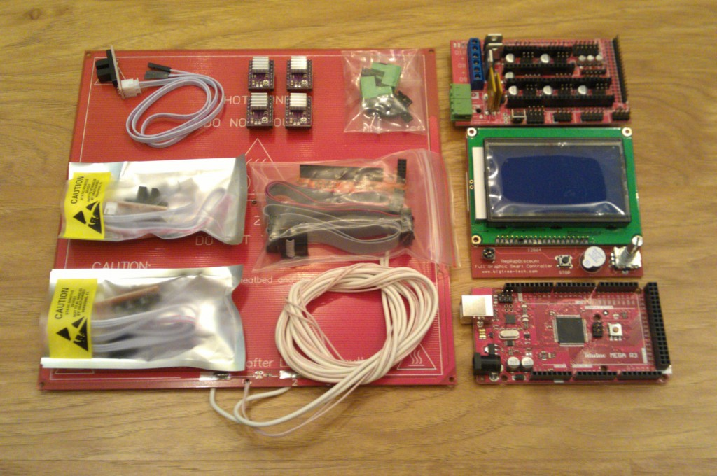 Электроника 3d принтера